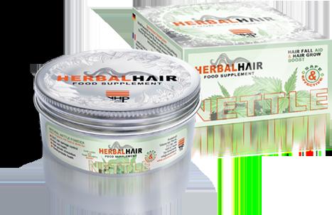 100% puur natuurlijk brandnetel poeder van Volume Hair Plus werkt van binnenuit en is effectief tegen haaruitval, goed voor haar, huid en algehele gezondheid.