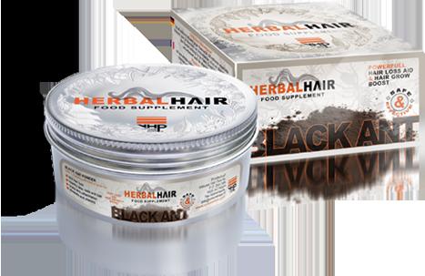 100% puur natuurlijk black ant ofwel zwarte mieren poeder poeder van Volume Hair Plus werkt van binnenuit en is effectief voor haar, huid en algehele gezondheid.